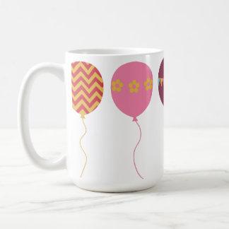 Ballon-Feier-Chevron-Flaggen-Tasse Tasse