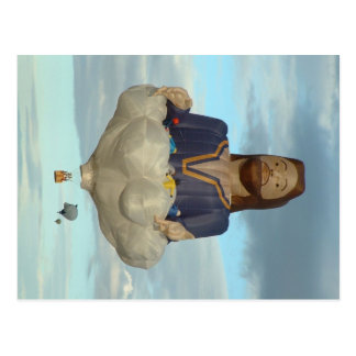 Ballon-Fiesta Albuquerque Jesus der Lord Postkarten