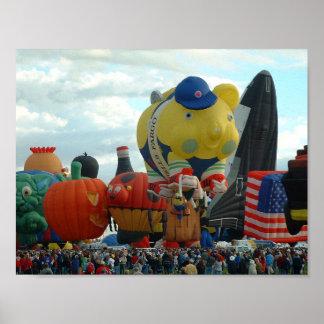 Ballon-Fiesta-Albuquerquespecial-Formen Poster