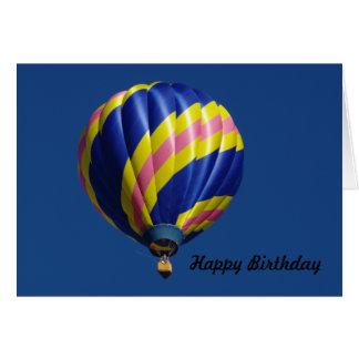 Ballon-Geburtstags-Karte Karte