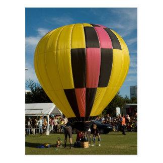 Ballon modelballon-2 postkarte