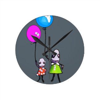 Ballon Runde Wanduhr