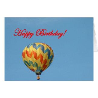 Ballone, alles Gute zum Geburtstag Grußkarte