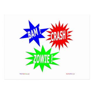 Bam-Abbruch Zowie Postkarte