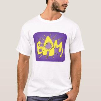 Bam! Batman-Kampfszenengraphik T-Shirt