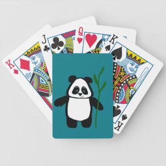 Bambus die Panda-Spielkarten Pokerkarten