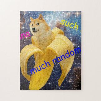 Banane   - Doge - shibe - Raum - wow Doge Puzzle