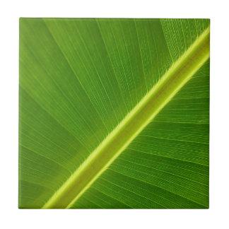 Bananen-Blatt Keramikfliese