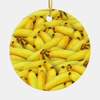 Bananen-Frucht-Foto des Sommers frisches Keramik Ornament