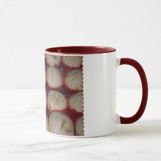Bananen-Pfannkuchen-Muffin-Tasse Tasse