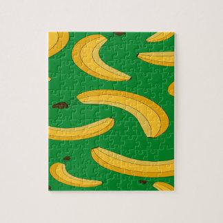 Bananenfruchtmuster Puzzle