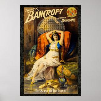 Bancroft: Prinz von Magier-Neuauflage Vintage 6 x Poster