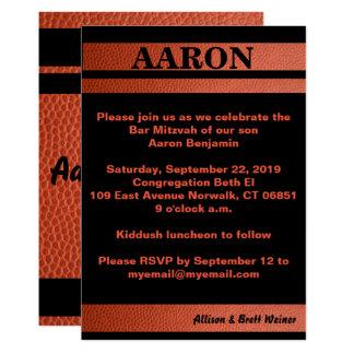 Band-Bar Mitzvah Einladung