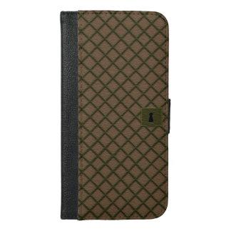 Band-Telefon-Geldbörsen-Kasten iPhone 6/6s Plus Geldbeutel Hülle