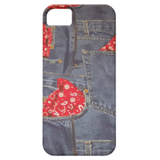 Bandana verblaßte Denim-Jeans iPhone 5 Abdeckung iPhone 5 Case