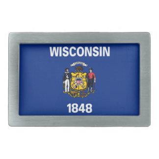 Bandeira De Wisconsin Rechteckige Gürtelschnalle