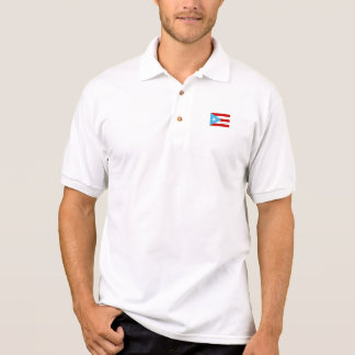 Bandera De Puerto Rico Independiente Polo Shirt