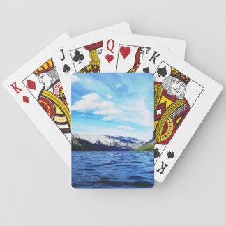 Banff-Landschaftsspielkarten Spielkarte