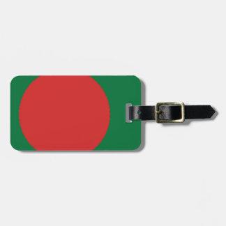 Bangladesch-Flagge Gepäck Anhänger