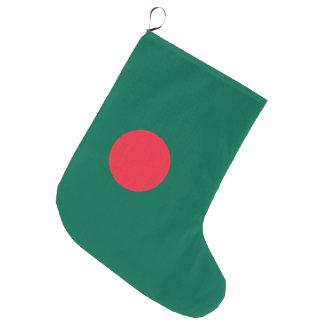 Bangladesch-Flagge Große Weihnachtsstrümpfe