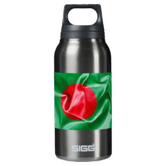 Bangladesch-Flagge Isolierte Flasche