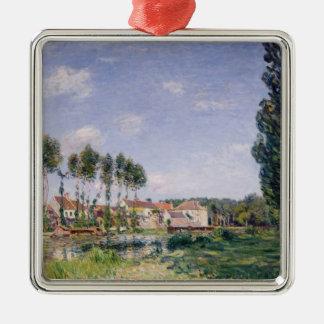 Banken Alfred Sisleys | des Loing bei Moret Silbernes Ornament