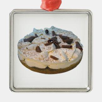 Banoffee Törtchen Silbernes Ornament