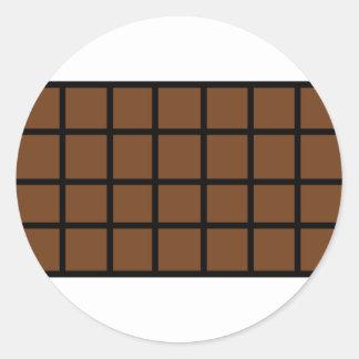 Bar der Schokoladenikone Aufkleber