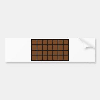 Bar der Schokoladenikone Auto Sticker
