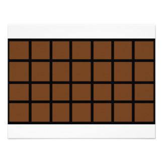 Bar der Schokoladenikone Personalisierte Ankündigungen