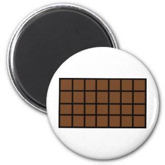Bar der Schokoladenikone Runder Magnet 5,1 Cm