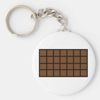 Bar der Schokoladenikone Standard Runder Schlüsselanhänger