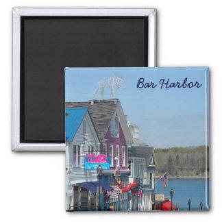 Bar-Hafen, Maine Quadratischer Magnet
