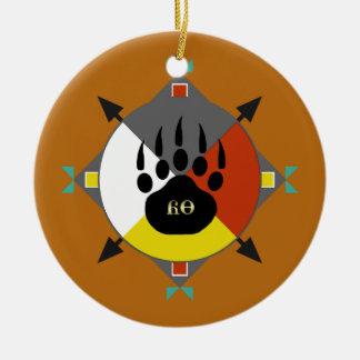 Bär ist meine Bruder-Cherokee Verzierung Keramik Ornament