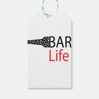 Bar-Leben-Abnutzung Geschenkanhänger