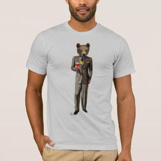 Bär mit Cocktail T-Shirt
