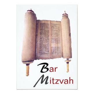 Bar Mitzvah Torah Einladung