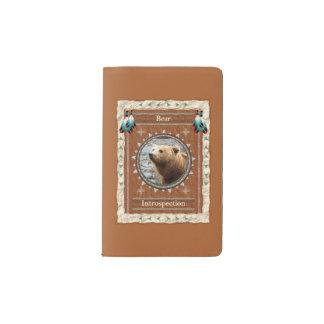 Bär - moleskine taschennotizbuch
