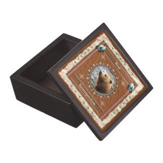 Bär - Selbstbeobachtungs-Holz-Geschenkboxen Kiste