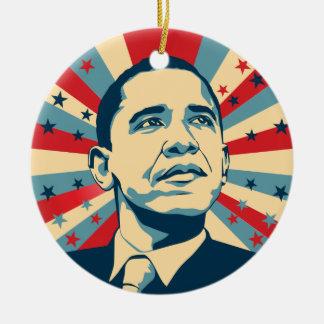 Barack Obama Keramik-Verzierung Keramik Ornament