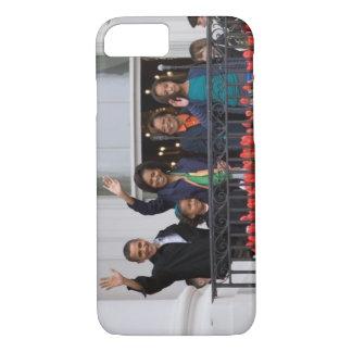 Barack Obama u. Familie iPhone 8/7 Hülle