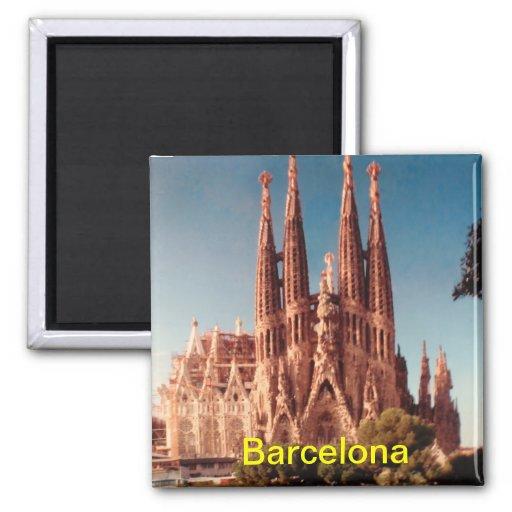 Barcelona-Magnet Kühlschrankmagnet
