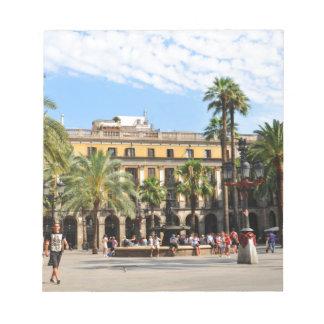 Barcelona Notizblock