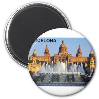 Barcelona Spanien Kühlschrankmagnet