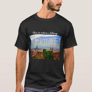 Barcelona-Stadt T-Shirt