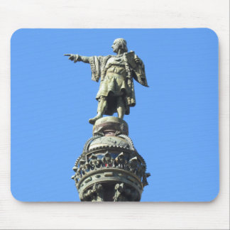 Barcelonas Columbus-Monument Mousepad