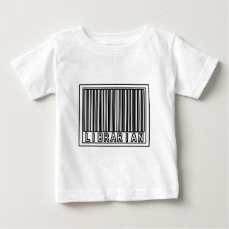 Barcode-Bibliothekar Baby T-shirt