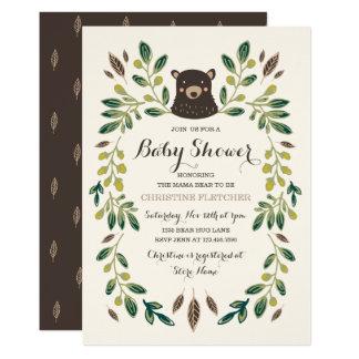 Bärenjungs-Babyparty Karte