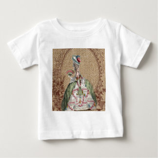 barocke französische Landleinwand Marie Antoinette Baby T-shirt