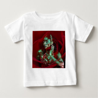 Baroque meets Oriental Rose Baby T-shirt